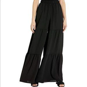 Show Me Your Mumu Serafina Wide Leg Tiered Pants